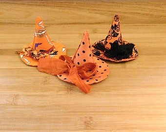 Halloween Witch Hats Ornaments Bowl Fillers Fall Decorations