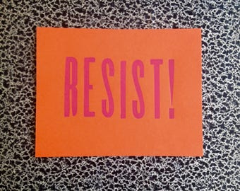 10 postcards resist! political postcard