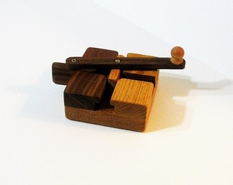 Genuine Do - Nothing Fidget Toy Made Of Five Woods
