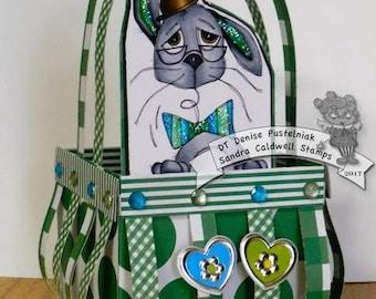 1449 Springhead Rabbit Digi Stamp