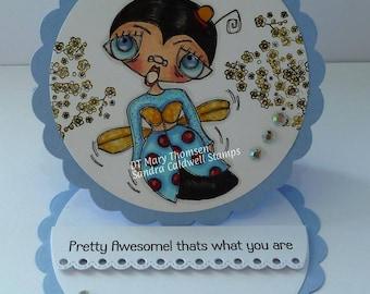 1454 Ms Lady Bug Digi Stamp