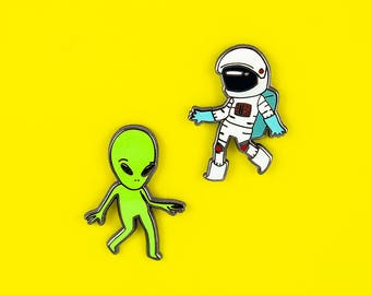 LOST IN SPACE pin set | enamel pins | lapel pins