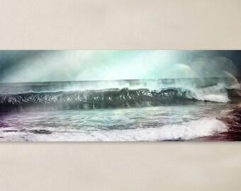 Panoramic Metal Wall Art, Choose Any Art Piece, Aluminum, Wall Decor, Vibrant, Ocean, Waves, Surf, Decorations, Nicaragua, Coastal, Surf
