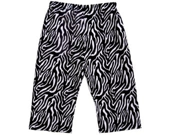 Black And White - Black - Zebra - Minimalist - Toddler Pants - Girls Pants - Boys Pants - Conscious Childrens - 2t - On SALE - Ready to Ship