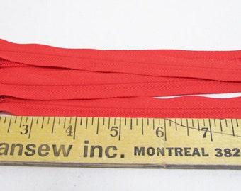 "19 pieces- 9"" invisible zipper CORAL"