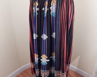boho skirt, india skirt, festival skirt, rayon skirt, bohemian, hippie skirt