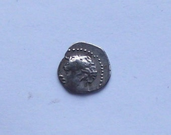 Authentic Ancient Greek Coin Of of Apollo Minted c. 400 B.C.
