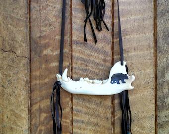Spirit Medicine Jawbone Art
