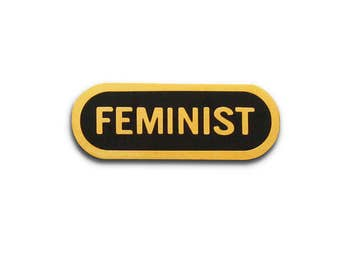 Feminist Enamel Lapel Pin