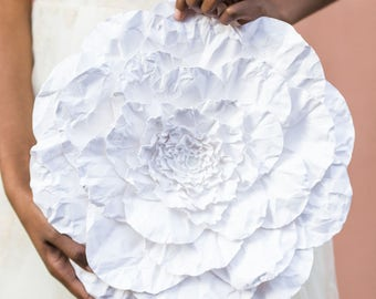 Large Paper Flower in the Color of Your Choice