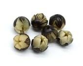 Lotus  Seedpod  Beads, 13mm, 5pcs,   Resin,  Lotus, Buddhism Beads -B875