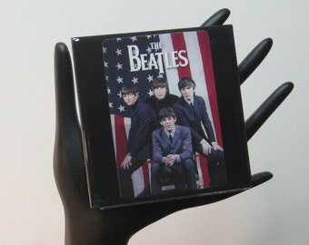 The Beatles Limited Edition Collector Card Drink Coaster
