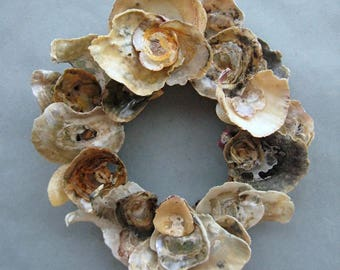 Colorful Shell Wreath or Candle Ring–SW82