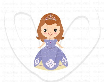 Princess Sofia Clip Art ( Movie inspired ) - A59