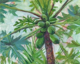 Papaya leaves | Etsy