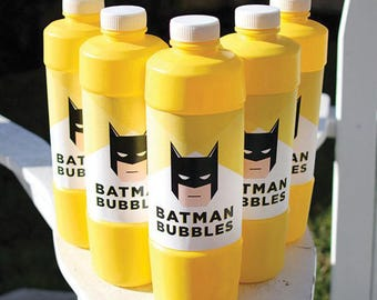 Batman Bubbles