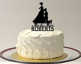 MADE In USA, Pregnant Cake Topper, Pregnant Wedding Cake Topper, Silhouette Personalized Wedding Cake Topper, Pregnant Baby Shower Topper