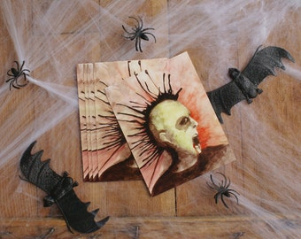 Graveyard Punk Postcard Set