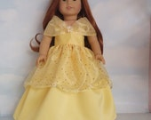 18 inch doll clothes - #702 Belle Gown made to fit the American Girl Doll - FREE SHIPPING