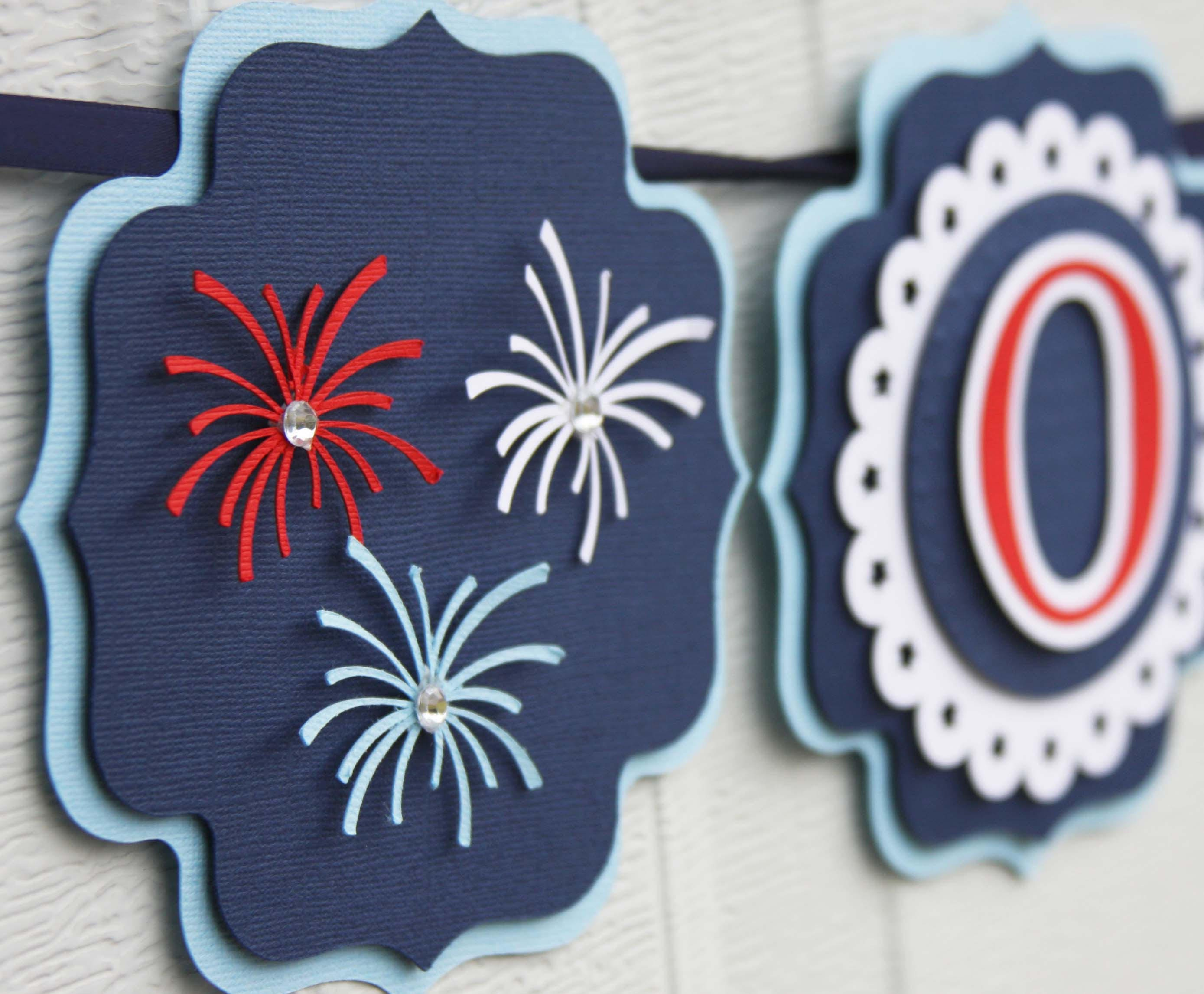 4th of july banner | Etsy