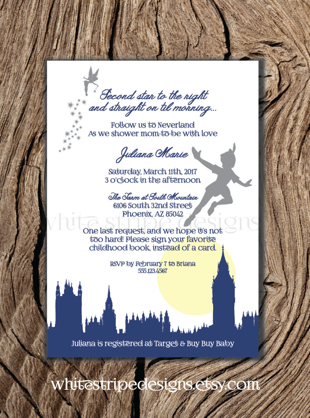 Snap Peter Pan and the Lost Boys Printable Digital File Invitation ...