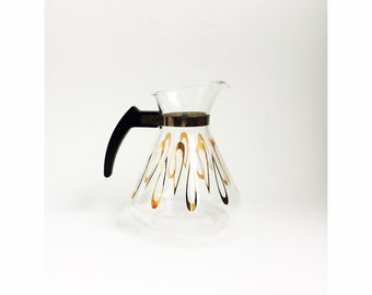 Mid Century Coffee Carafe / Pitcher