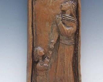 Madonna and Child: Handmade Statue