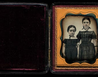 1/6 Daguerreotype Cute Little Girls - Boston School - Full Case