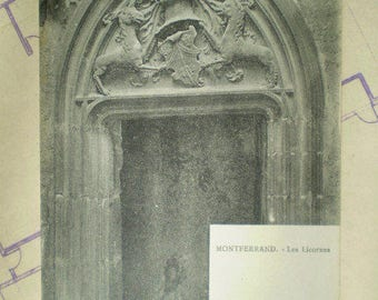Montferrand - Les Licornes - Early 1900s - Antique French Postcard - The Unicorns