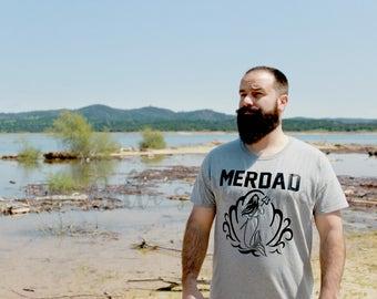 Merdad shirt - Mermaid Dad shirt - Mermaid Birthday Party - Dad Mermaid shirt - Mermaid Birthday shirt - Birthday shirt - Party - Ariel