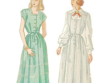Simplicity 2459 Size 14 Bust 32 Maternity Dress Jumper and Blouse Pattern 1940s