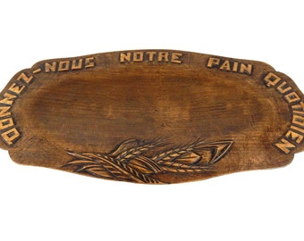 French Vintage Bread Board  Home Decor