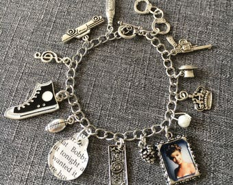 A Real Indication Charm Bracelet inspired by Twin Peaks Fire Walk With Me.