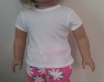 American Girl 18 inch doll Tshirt and Pants