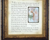 Personalized Wedding Sign Mother of the Bride Mother of the Groom Wedding Gift Mom Daughter Picture Frame Mother Daughter Gift 16x16