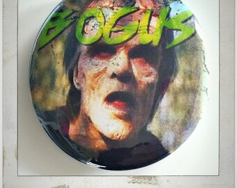 """BOGUS - Monster Squad Large 2 1/4"""" Pin Back Button"""