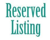 Reserved Listing for Tasha