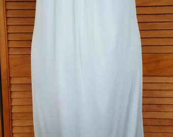 70s Miss Dior White Nightgown