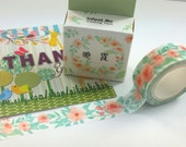Flower Washi Tape (7M)