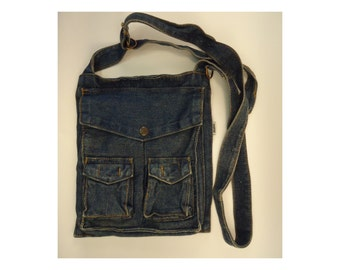 Denim Purse - Jean Purse / Handbag / Travel Bag - Mavi Brand