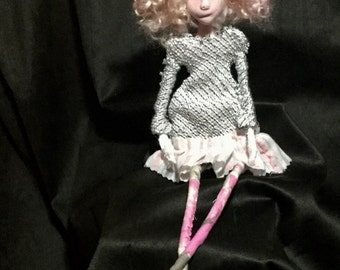 art doll, pink