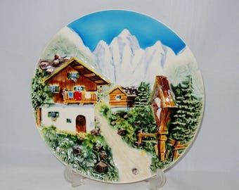 german alps decorative wall plate