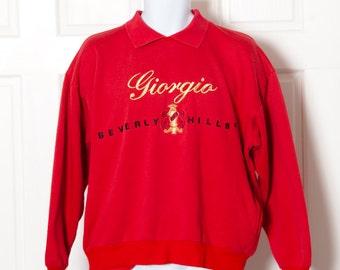 Vintage 80s GIORGIO BEVERLY HILLS Sweatshirt