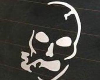 Slightly Stoopid Skull Vinyl Decal