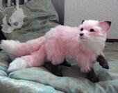 PREORDER: Custom fantasy color Kitsune / Hulijing pup