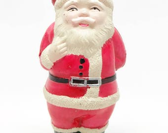 1930's  Celluloid Santa, Hand Painted for Christmas