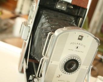 Vintage Polaroid Camera, Wedding Photo Booth Prop, Wedding Camera, Polaroid Land Camera Model 95A