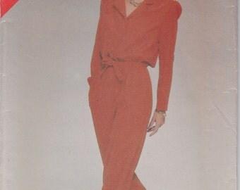 Jumpsuit Pattern Butterick 5354 Sizes 14, 16, 18 Uncut