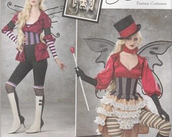 Burlesque Steampunk Pattern Simplicity 1301 Size 14-22 UNCUT