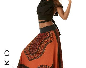 STEAMPUNK SKIRT, draped Skirt, Flamenco skirt, GYPSIE skirt, rouched skirt, long skirt, ruffle skirt, victorian skirt, ApSKAL